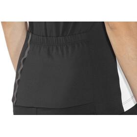 Löffler Pura FZ Jersey Damen schwarz/weiß